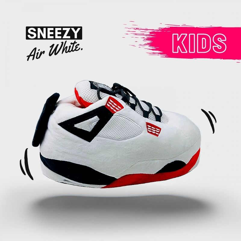Chausson Sneakers Air White Kids